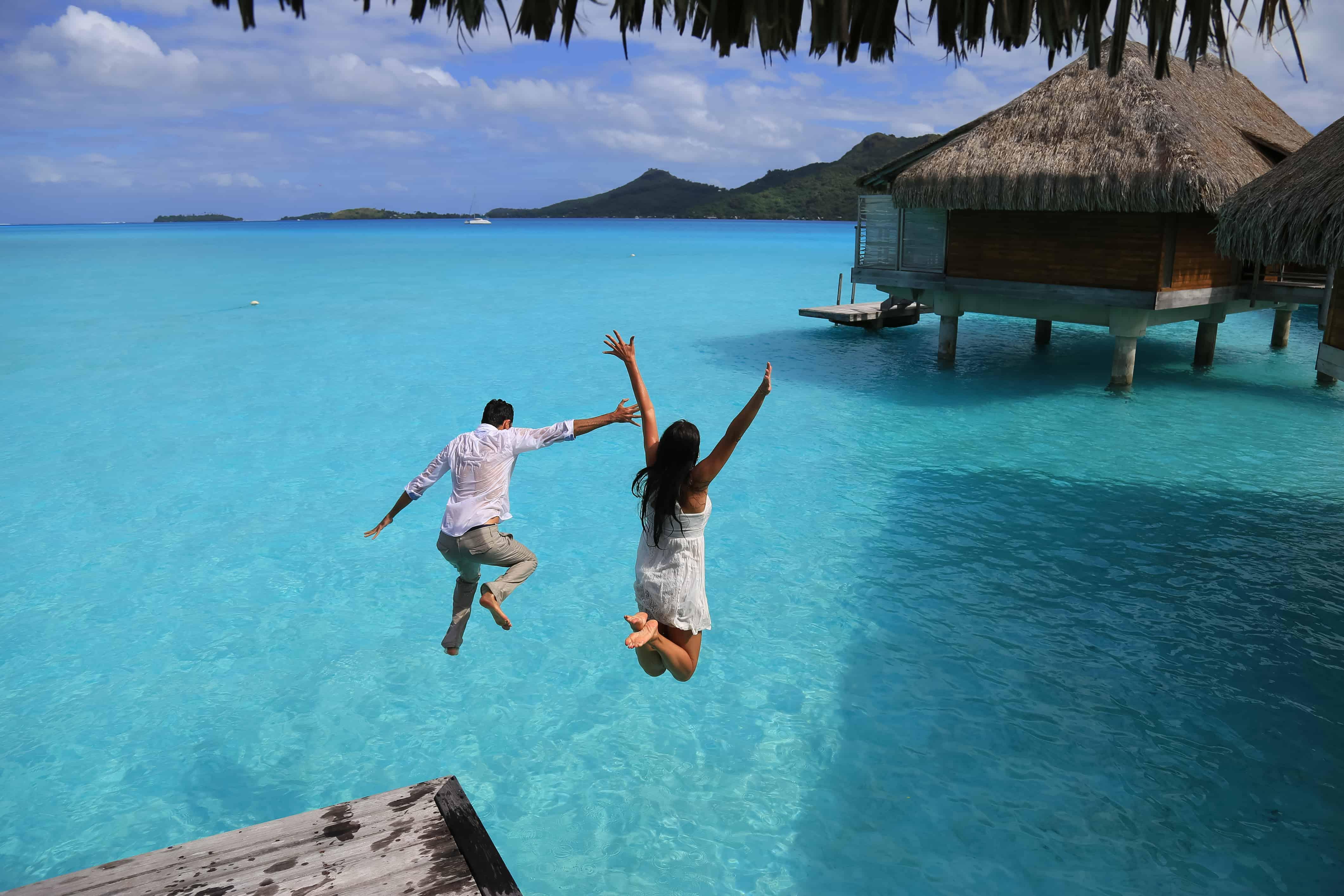 bora bora best tropical vacation spots