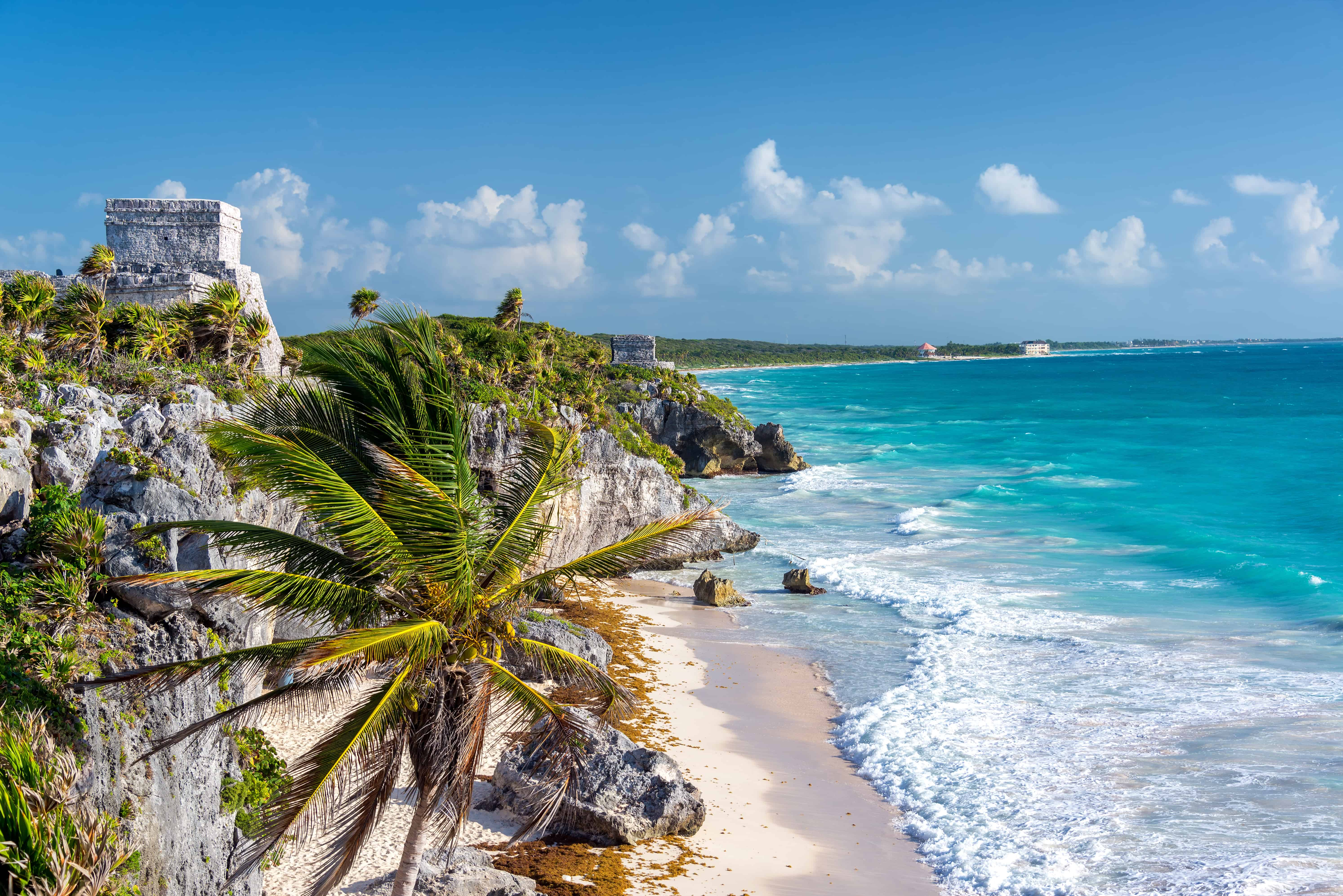 Tulum, Mexico best tropical vacation spot