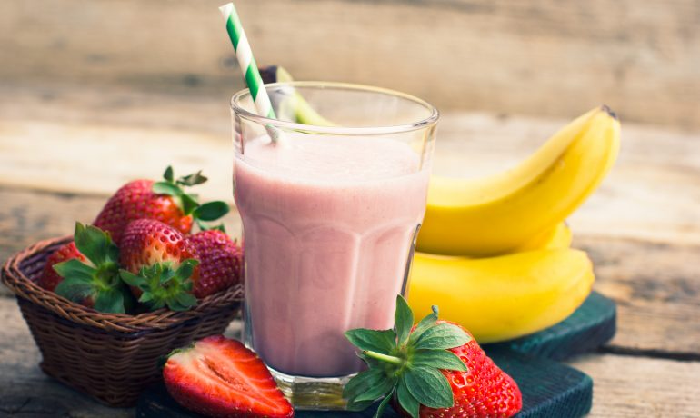 Healthy Strawberry Banana Smoothie Recipe