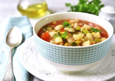Healthy Minestrone Soup Recipe