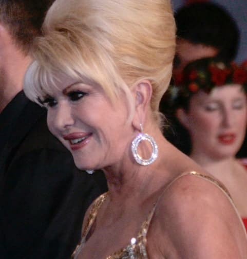 Ivana Trump Helps Fight Obesity With Italian Diet